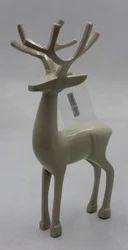 Aluminum Reindeer Statue