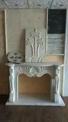 Home Marble Fireplace