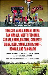 Tobacco and Pan Masala Formulations Book