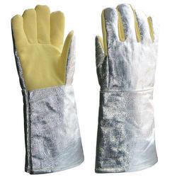 Asbestos Fire Safety Hand Gloves, Size: Large