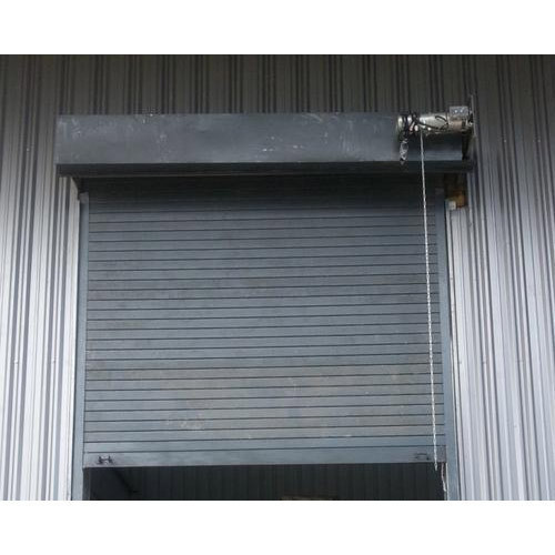 MS & GI Full Height Automatic Rolling Shutter