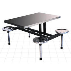 Ms, Ss Dinning Table 4 Seater, Shape: Rectangular