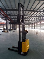 Battery Operated Warehouse Stacker