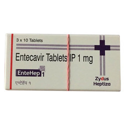 Entecavir Tablets IP 1 Mg
