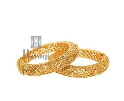 Gold KA6180 Bridal Bangles Antique Bangles
