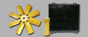 Cummins Greaves Cotton Engine Radiator Metal Plastic Fibre Cooling Fans Radiator Fans