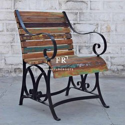 Ancient Indian Furniture - DIY Recycled Wooden Industrial Pallet Chair Restaurants