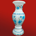 Marble Flowers Flower Design Vase