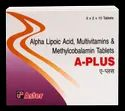 Alpha Lipoic Acid , Multivitamins, Methylcoblamine Tab ( a Plus Tablets )
