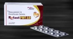 Rosuvastatin & Fenofibrate Combination Tablets