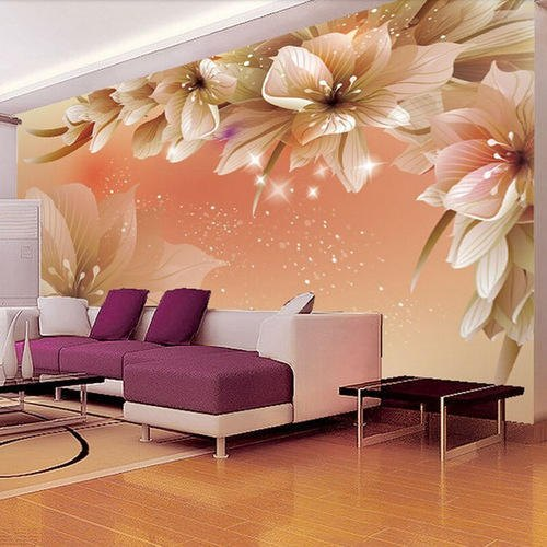 Pvc Glossy Wallpaper Rs 70 Square Feet Chahat Library Service Id 21013990697