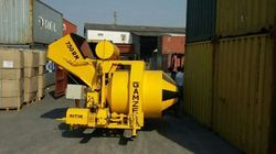 Mini Mobile Batching Plant with electric motor
