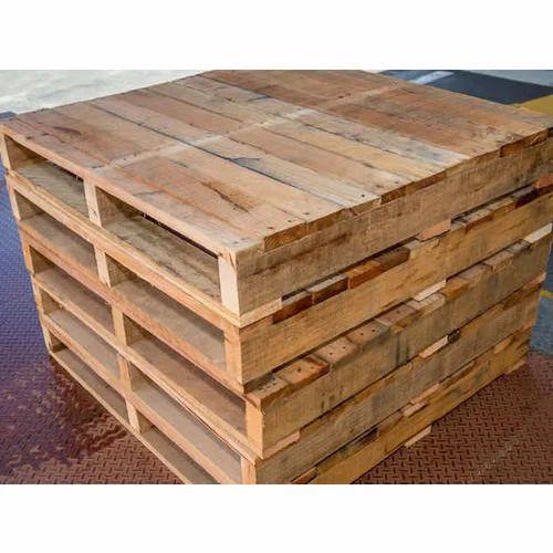 Brown Hardwood Timber Pallets