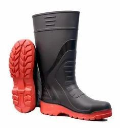 Double Density PVC Gumboot With Insole