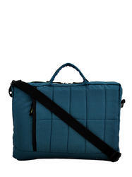 Blue Quilted Laptop Bag