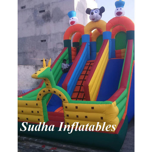 Micky Mouse Inflatable Slide