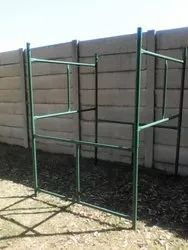 Hot Dipped Galvanized Blue H Frame Scaffolding, 50 Mm