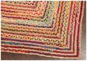 Indian Braided Jute Rug