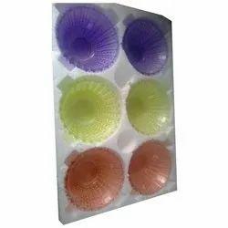 Multicolor Glass 6 Piece Bowl Set