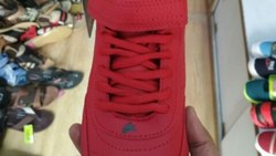 Mens Red Shoe