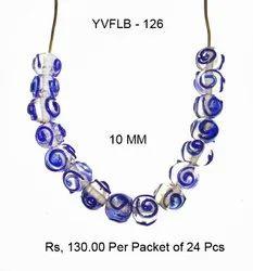 Lampwork Fancy Glass Beads - YVFLB-126