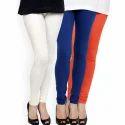 Nadia Premium Cotton Lycra Stylish Ladies Legging, Size: M, L, Xl, Xxl