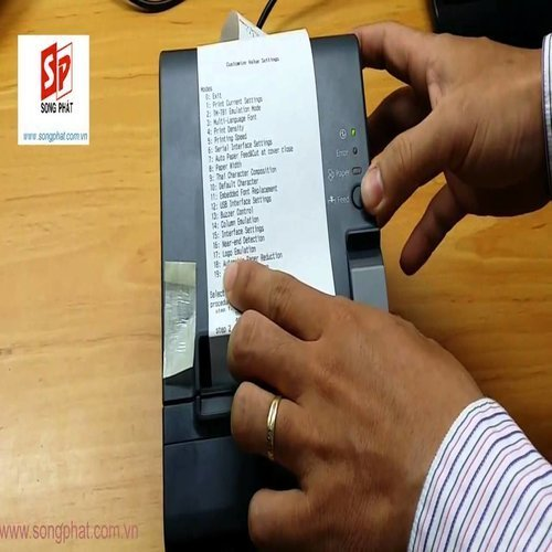 Receipt Printer Epson Tmt T82 Lan 313 Service Provider From Chennai