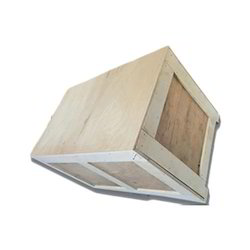 Edible Rectangular or Square Industrial Wooden Packaging Box, Box Capacity: 0-2000kg