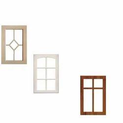 Rectangular PVC Kitchen Window Frame