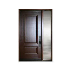 Brown Hinged FRP Door