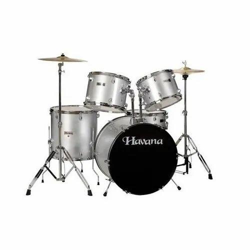Havana Hv 522 Silver Color Drum Set