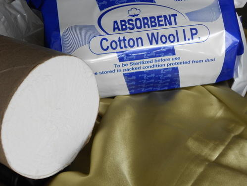 Storage manufacturing cotton wool and cotton products