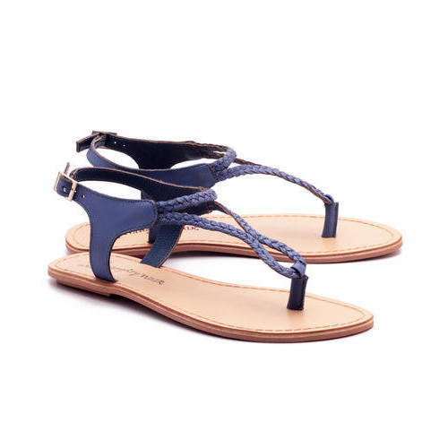 7532b642d82f55 Naughty Walk Leather Ladies Sandal