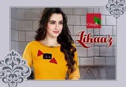 Lihaaz Heavy Cotton Slub New Designer Kurtis