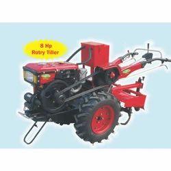 8 HP Diesel Rotary Tiller