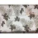 Poly Glass Burnuut Fabric