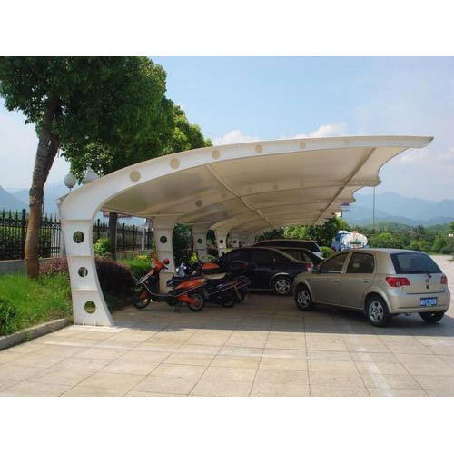 Car Parking Tensile Structure Fabrication Service