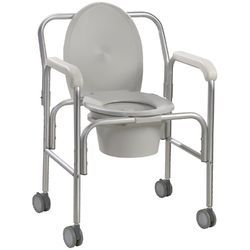 Movable Commode Chair