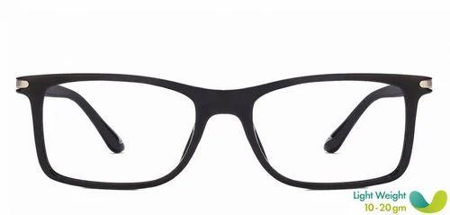 65d9f14932 Men Eyeglasses - Black Gunmetal Full Rim Rectangle Medium Eyeglasses ...