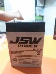 6v5, 5ah Sealed Acid Battery
