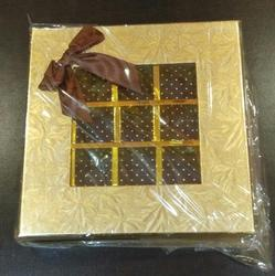 MDS Chocolate Square Gift Box For 25 Cavities, Property : Long Period