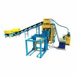 High Pressured Hydraulic Fully Automatic Fly Ash Bricks Making Machine