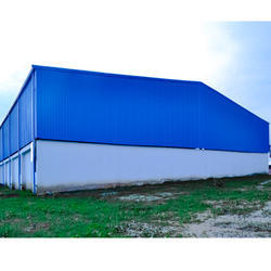 Steel Industrial Shed