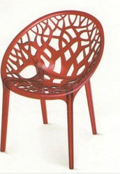 Brown Plastic Nilkamal Novella Chair