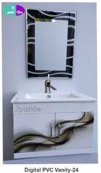 24 Digital PVC Vanity Set