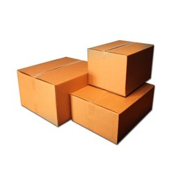 Cardboard Square Corrugated Boxes Printing Services, For Office, Box Capacity: 21-30 Kg