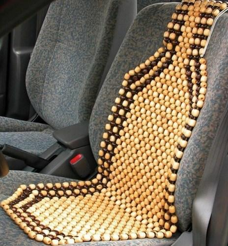 Wooden Beads Acupressure Car Seat at Rs 350 /piece | Acupressure ...