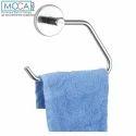 Silver Moca Towel Ring