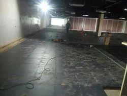 Bare Finish Steel Cementitious Corner Lock Flooring, For Indoor, Dimension: 600x600mm