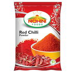 rohini Red Chilli Powder, Packaging Type: Packets